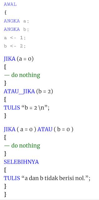 bahasa pemrograman nusa