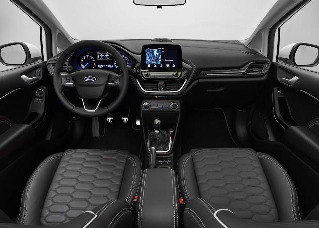 novo Ford Fiesta 2018 - Vignale - interior