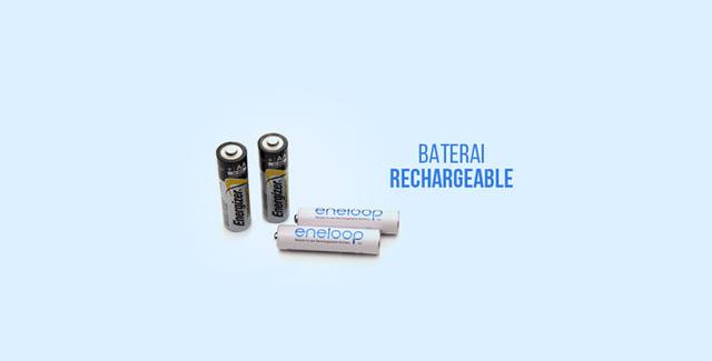 Baterai Rechargeable