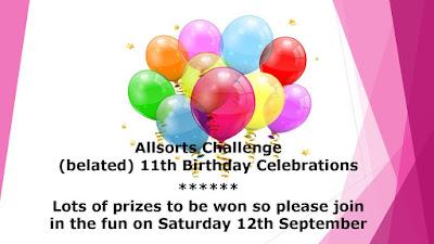 Allsorts 11th Anniversary
