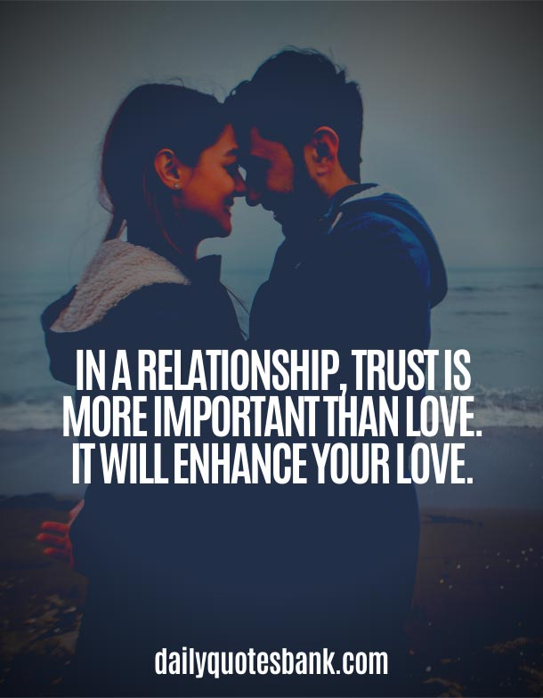 Best Relationship Quotes About Love and Trust