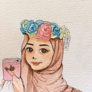 muslimah wallpaper cute iphone