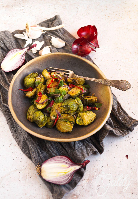 pieczone-zielone -warzywa