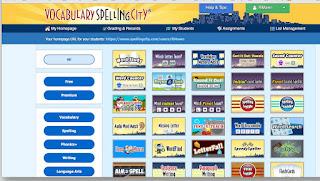 Spelling city website image