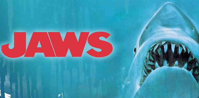 The movie Jaws is about which animal?