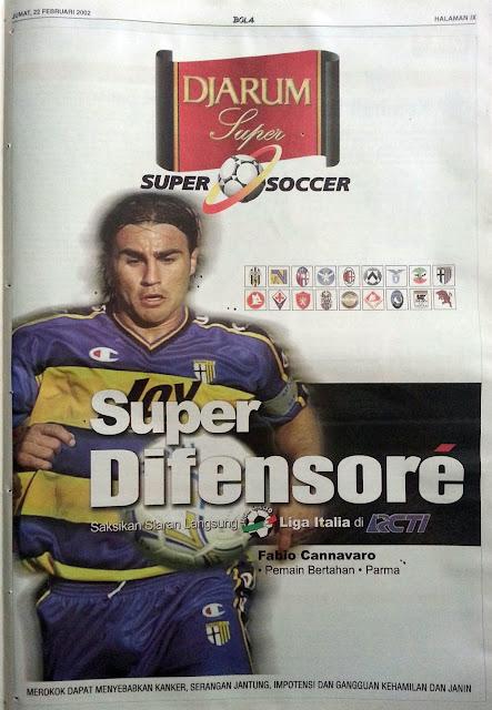 Super Difensore Fabio Cannavaro (AC Parma)