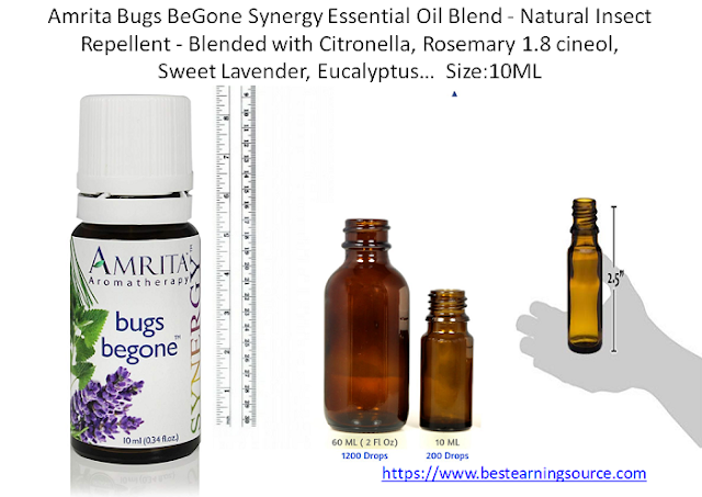 Amrita Bugs BeGone Synergy Essential Oil Blend