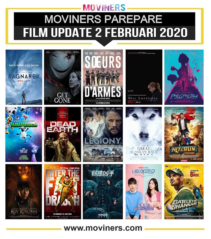 FILM UPDATE 2 FEBRUARI 2020