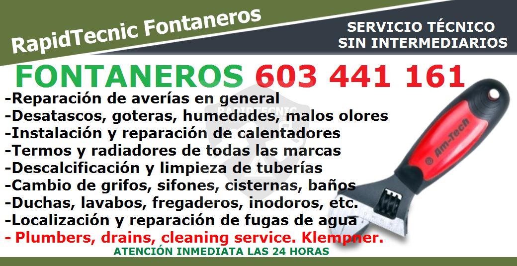 Rapidtecnic Alicante Fontaneros Urb Los Olivos Torrevieja 603