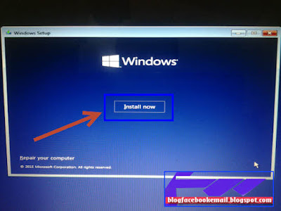 tutorial instalasi windows 10