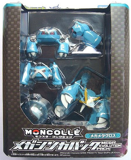 Mega Metagross figure Takara Tomy  Monster Collection MONCOLLE Mega Evolution  Pack