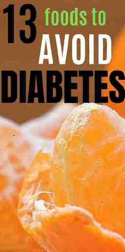 11 Foods to Avoid with Type 2 Diabetes