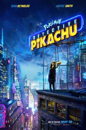 Pokémon Detective Pikachu 2019 480p 300MB BRRip Dual Audio