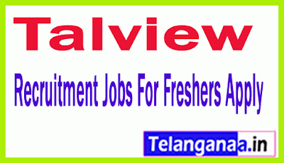 Talview Recruitment Jobs For Freshers Apply