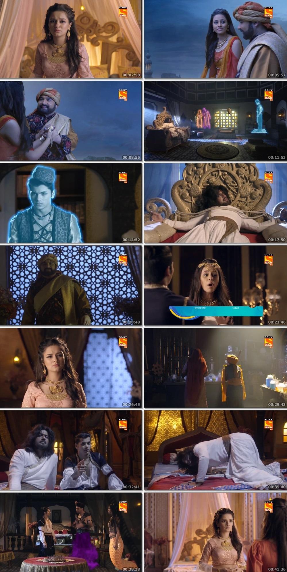 Screenshots Of Hindi Show Aladdin – Naam Toh Suna Hoga 2019 Episode 279 300MB 720P HD