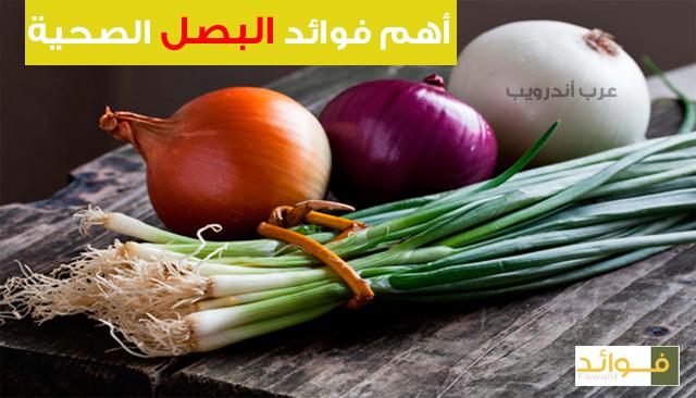 البصل و أهم فوائده الصحية
