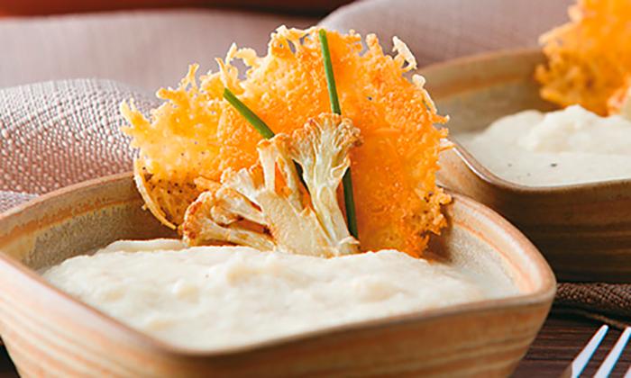 receta pure de coliflor cocina saludable para niños low carb baja en carbohidratos