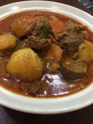 Resepi Ringkas Dalca Daging Dan Nasi Tomato