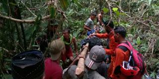 Empat Hari Jatuh ke Dalam Jurang di Aceh Timur, Warga Aceh Tamiang Berhasil Dievakuasi Tim SAR