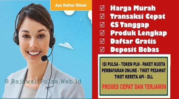 Rajawali Reload Bisnis Agen Pulsa Elektrik Online Termurah All Operator