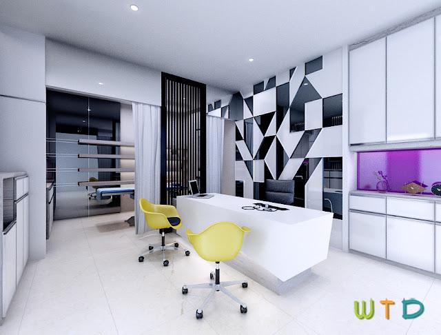 Desain Interior Klinik Kecantikan
