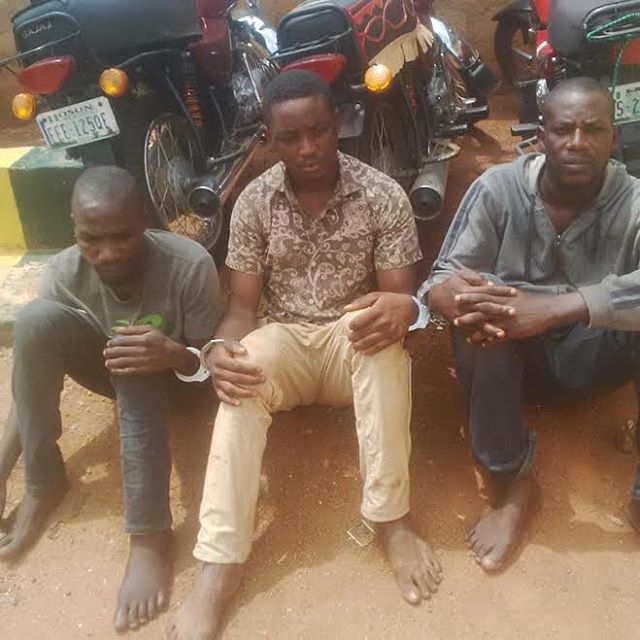 Three Friends Who Met While In Prison Arrested For Robbery In Osun State