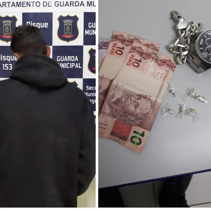 CACHOEIRINHA | Guarda Municipal realiza prisão por tráfico na Avenida José Brambila