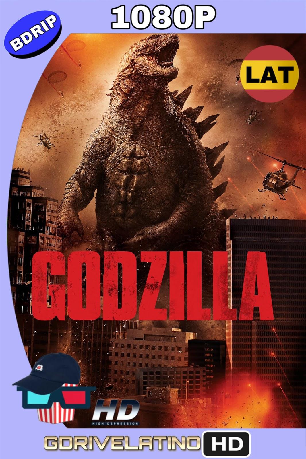 Godzilla (2014) BDrip 1080p (Latino-Inglés) MKV