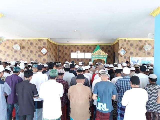 Warga Lapas ini Gelar Sholat Ghaib untuk Korban Gempa/Tsunami Palu