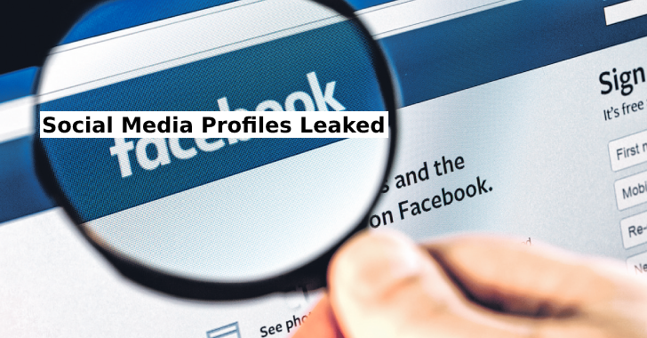 Social Media Profiles Leaked