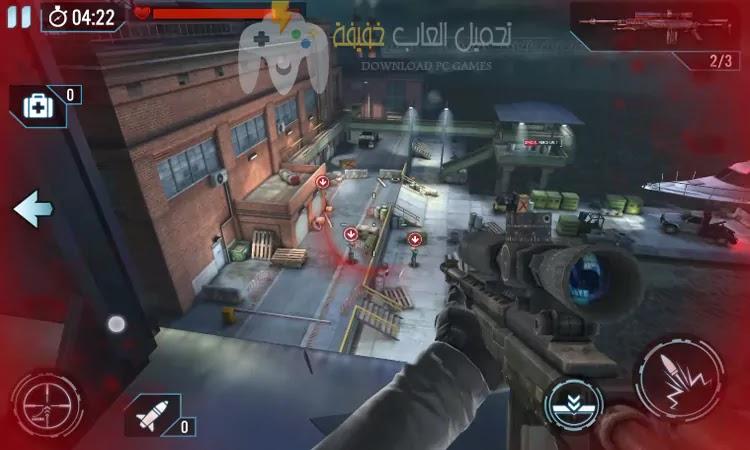 تحميل لعبة القناص المأجور Contract Killer Sniper مجانا