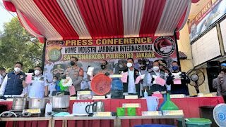 5 Fakta Aksi Warga Iran Bikin Pabrik Sabu di Tangerang Omzet Miliaran