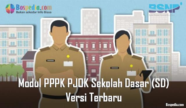 Modul PPPK PJOK Sekolah Dasar (SD) Versi Terbaru