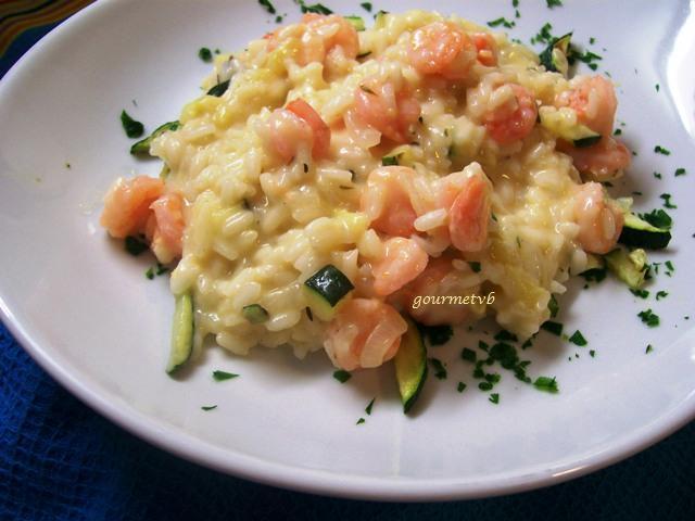 Cotto e giocato cotto ricetta risotto con gamberetti e for Ricette culinarie