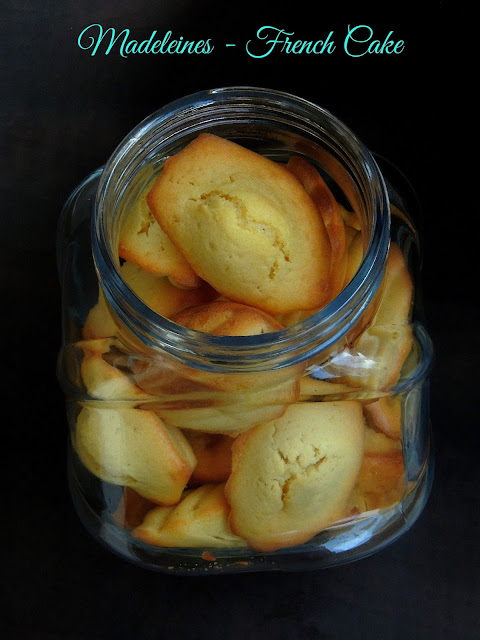Madeleines, French Small Cake