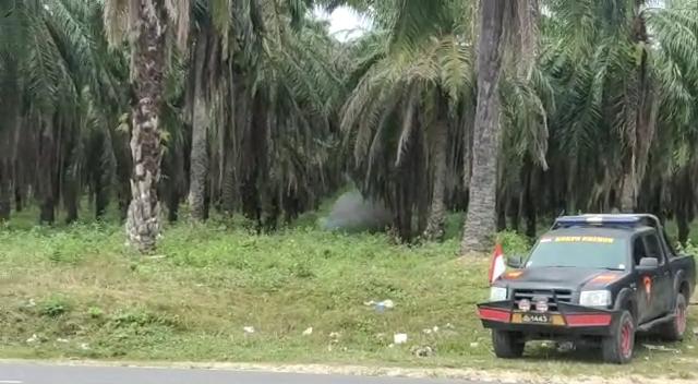 BREAKING NEWS, Sat Brimob Polda Aceh Ledakkan Mortir Aktif yang Ditemukan di Kota Langsa