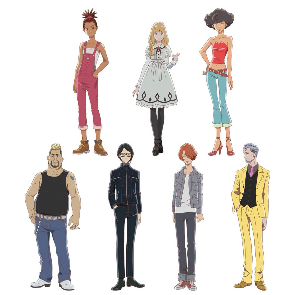 Carole & Tuesday - personajes