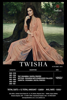 Sudriti Twisha Pashmina Winter Collection