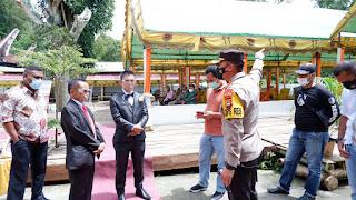 Kembali, Kapolres Tana Toraja Hentikan Pesta Resepsi Pernikahan Gandasil.