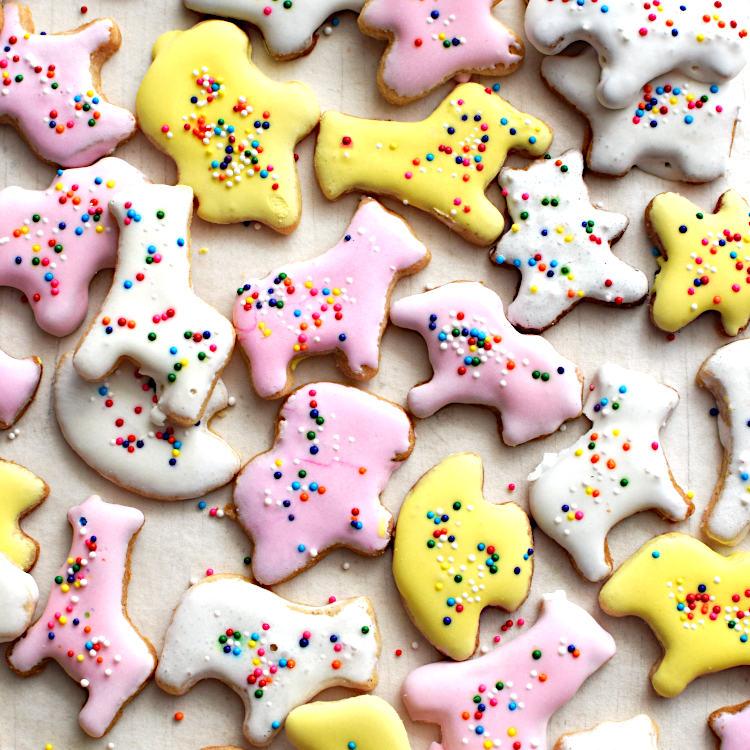 Receta para galletas de mantequilla sin huevo para decorar