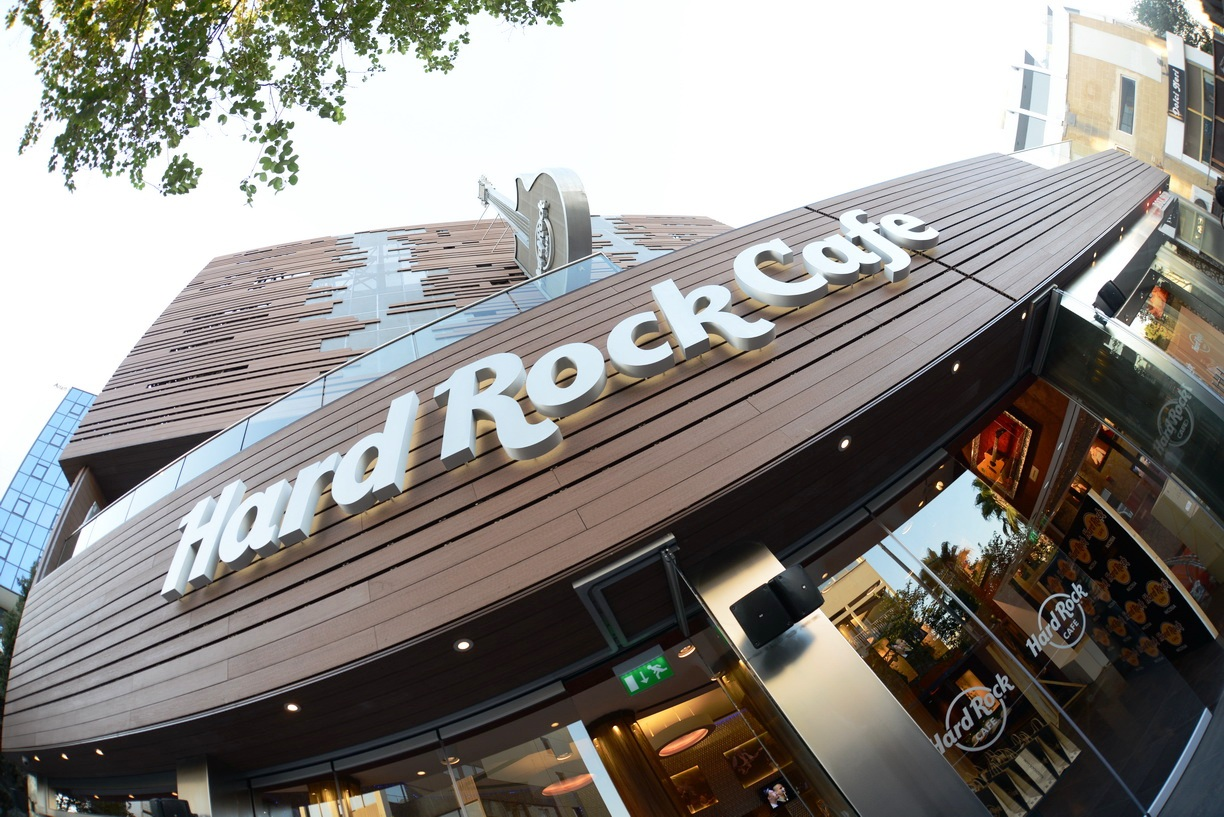 Professional Sound & Light in Cyprus: HARD ROCK CAFE ...
