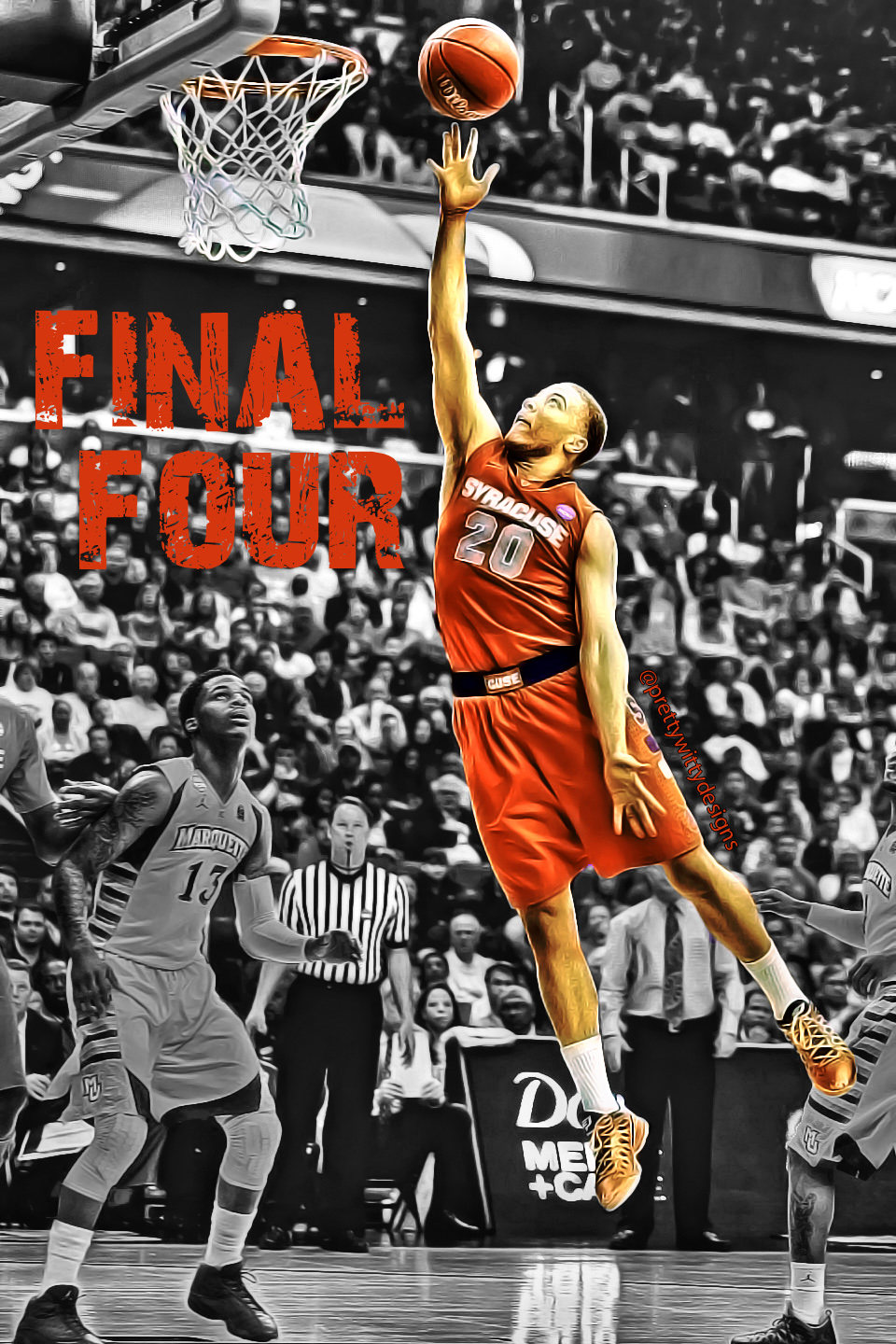 Pretty Witty Designs Sports Graphics Final Four Photo