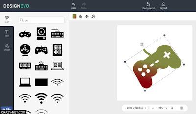 طريقة تصميم شعار احترافي بدون برامج و مجانا