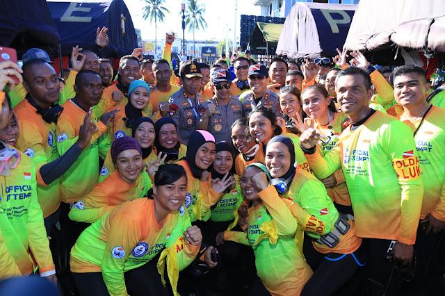 3100 Penyelam Wanita Semarakkan WASI di Manado