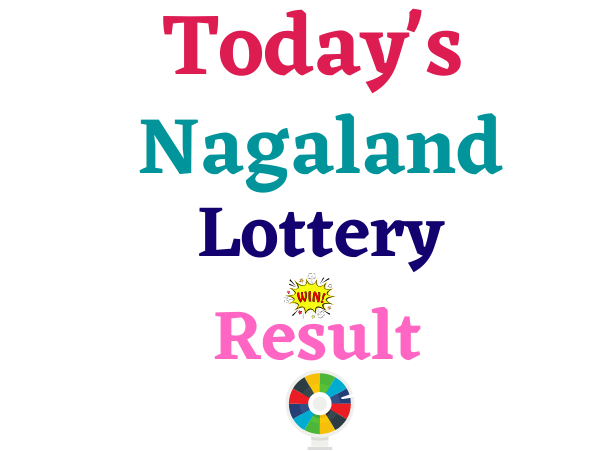Today Live Nagaland State lottery result 8 PM