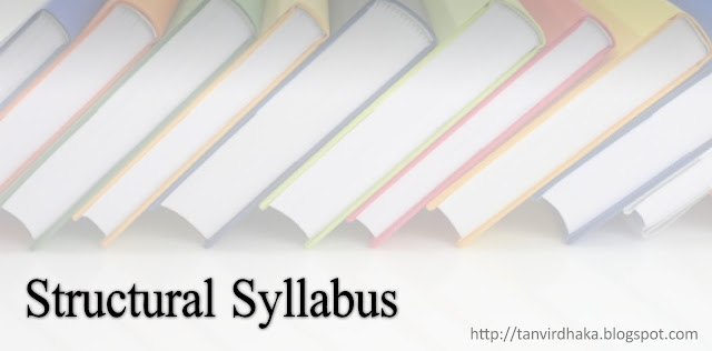 The Structural Syllabus