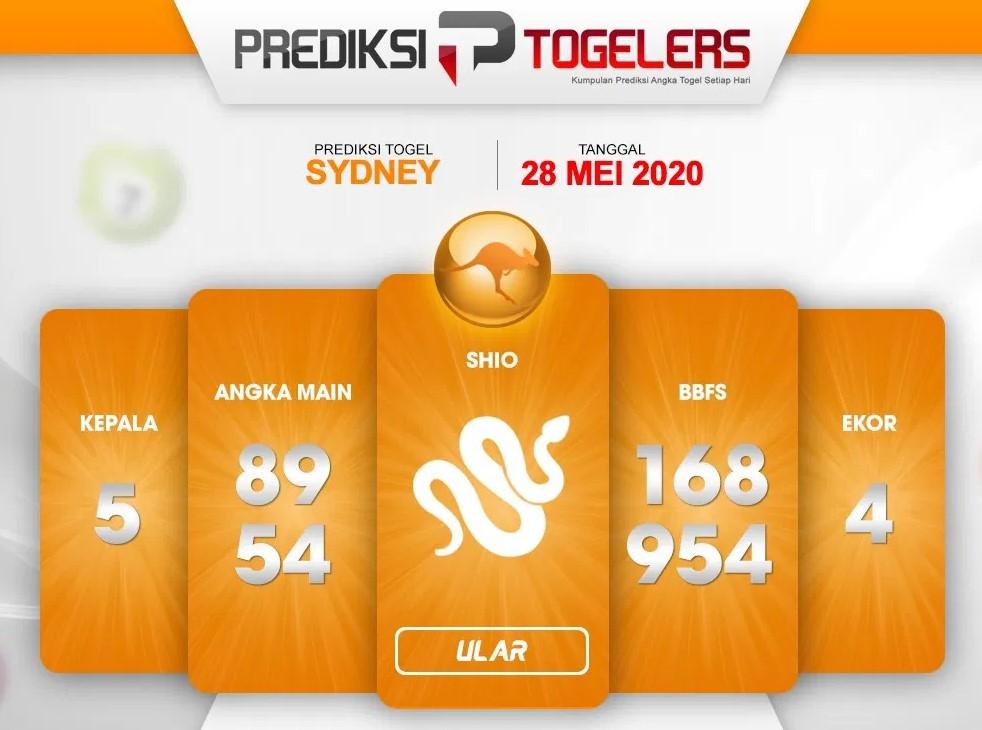 Prediksi Sydney Kamis 28 Mei 2020 - Prediksi Togelers