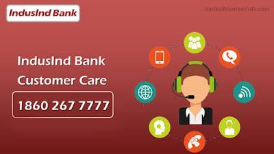IndusInd Customer ID through Customer care