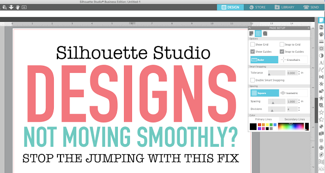 silhouette studio, page setup panel, silhouette cameo tutorials, Designs jumping, Silhouette software