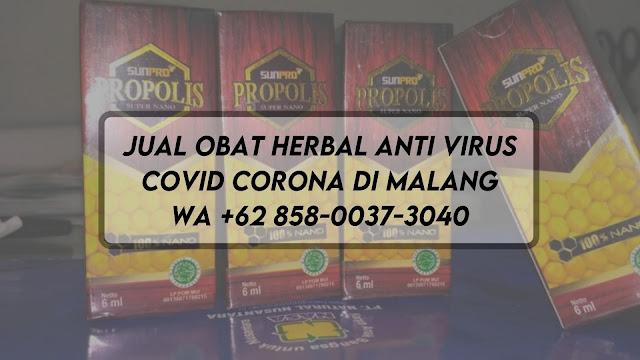 Jual Obat Herbal Anti Virus Covid Corona di Malang